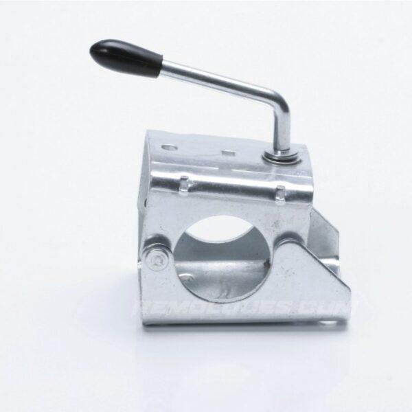 Abrazadera para Rueda Jockey Remolque 60mm