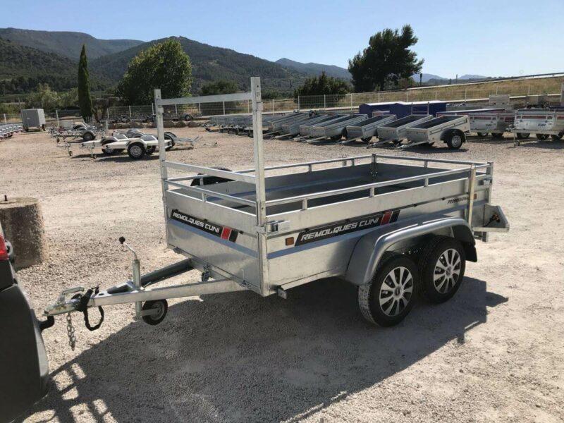 Alquilar remolque de carga reforzada ROBUST R6 6