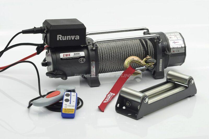 Cabrestante eléctrico Winch 3629kg. Modelo RUNVA EWK 8000