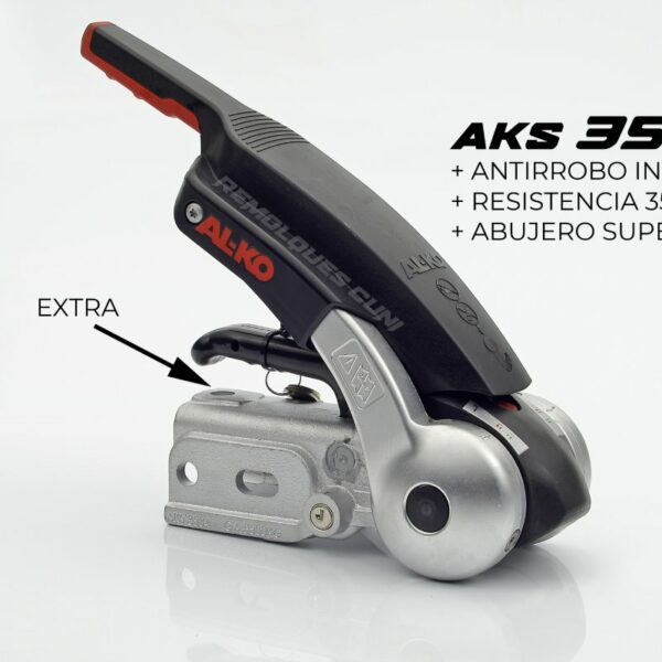 Estabilizador AKS 3504 de 3500kg con 3 agujeros +Antirrobo