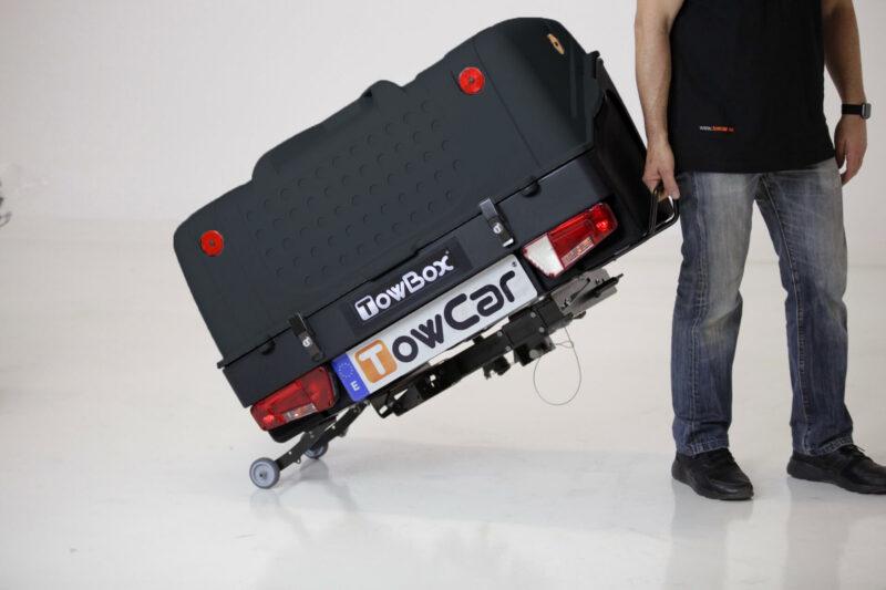 Cofre Bola para Remolques TowBox V1