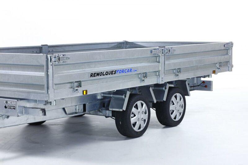 Remolque basculante Power Box Hercules 21