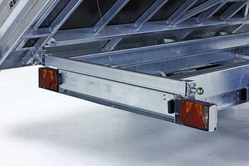 Remolque basculante Power Box Hercules 24