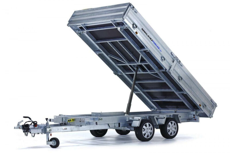 Remolque basculante Power Box Hercules