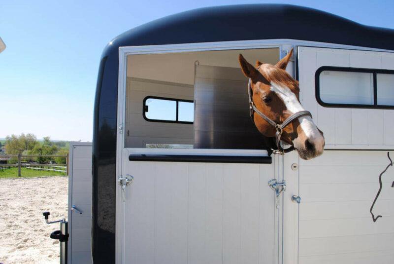 Remolque para 1 caballo y medio Touring One 1