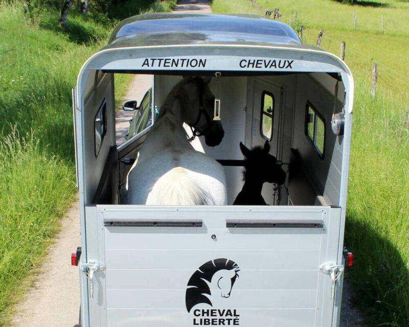 Remolque para 1 caballo y medio Touring One 12