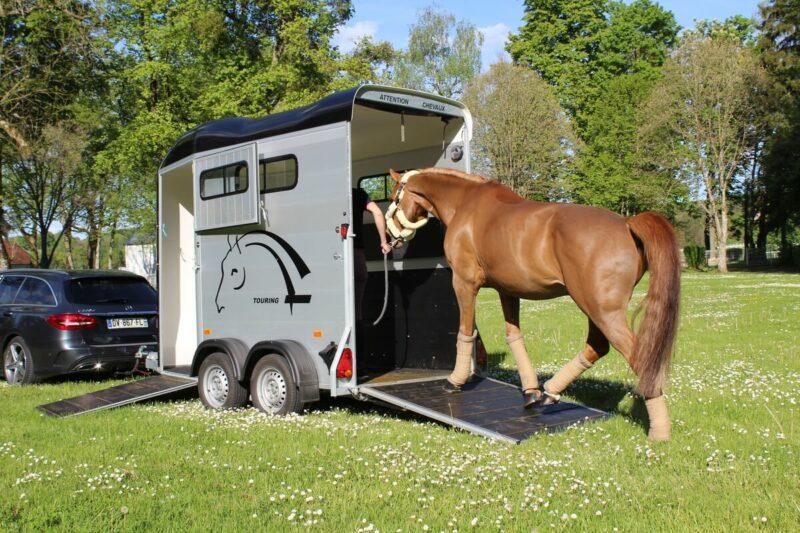 Remolque para 1 caballo y medio Touring One 2