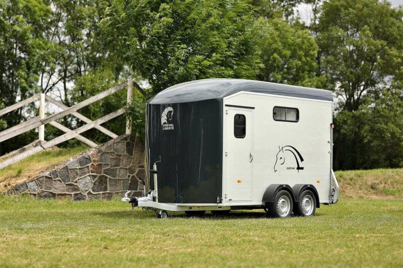 Remolque para 2 caballos Duomax Maxi 2 16