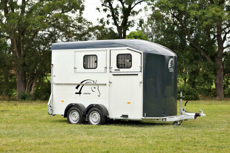 Remolque para 2 caballos Duomax Maxi 2 2