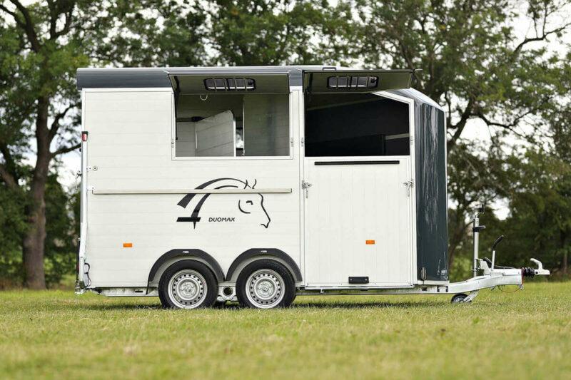 Remolque para 2 caballos Duomax Maxi 2 7