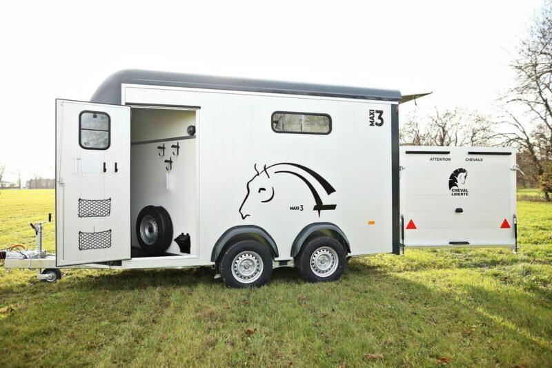 Remolque para 3 caballos Miniimax 26