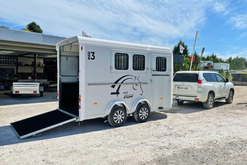 Remolque para 3 caballos Miniimax 3