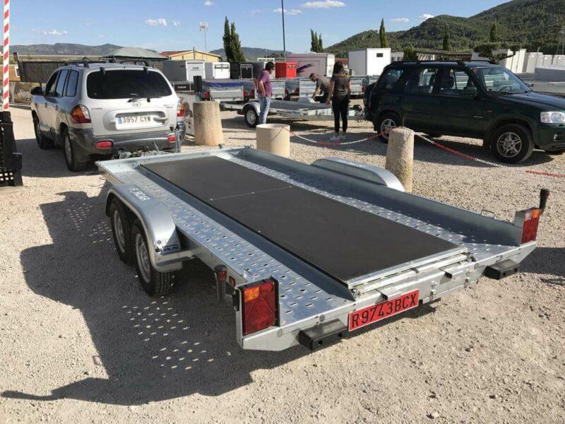 Remolque portacoches JARAMA 2500kg 2