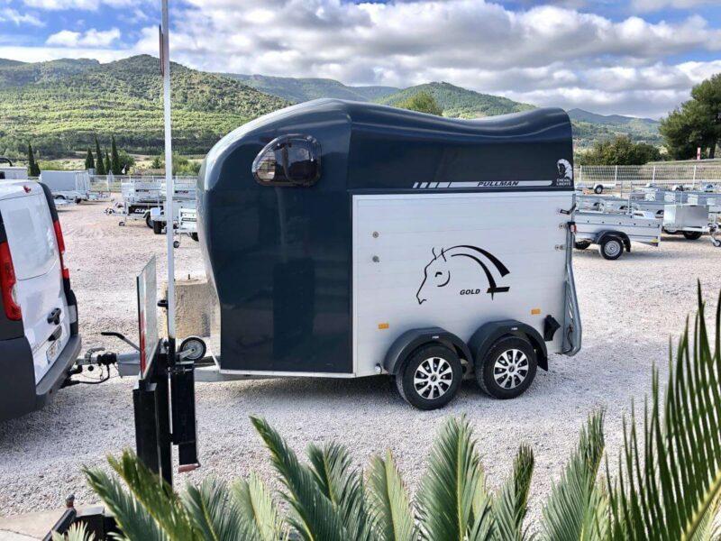 alquiler Remolque para dos caballos Cheval Liberte Gold 5