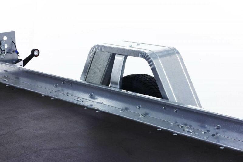 remolque plataforma basculante con freno 12