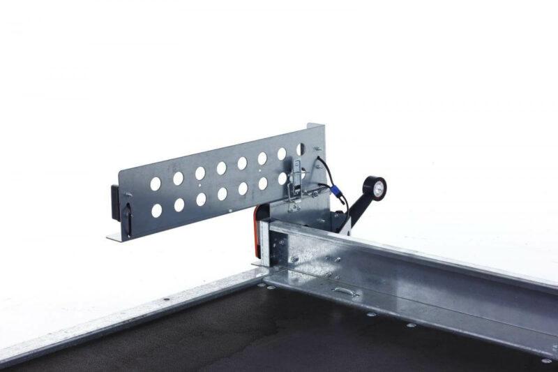 remolque plataforma basculante con freno 14