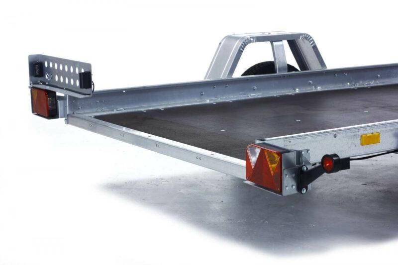 remolque plataforma basculante con freno 17