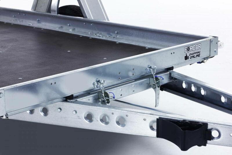 remolque plataforma basculante con freno 8